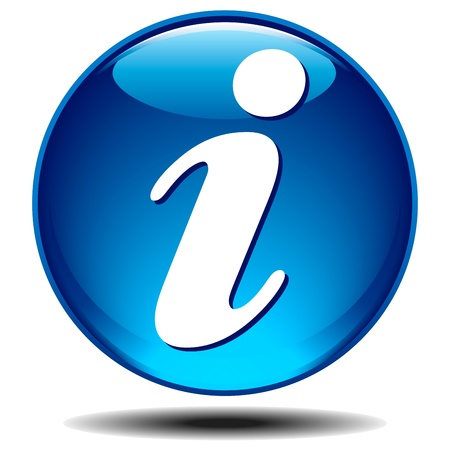 9333114 - blue generic glossy information icon