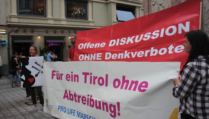 Pro Life Marsch 2016: Keine Abtreibung in öffentlichen Landeskrankenhäusern