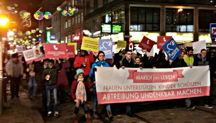 """Marsch für Leben Linz  – """"Abtreibung undenkbar machen"""""""