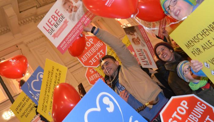 Marsch fürs Leben Wien – Abtreibung unnötig machen