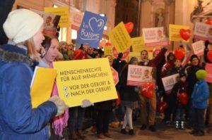 Marsch fürs Leben Wien 2016: Rechtswidrig von der Polizei untersagt