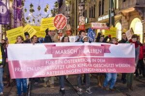 Märsche fürs Leben in ganz Österreich – Abtreibungen sollen sich in Österreich erübrigen