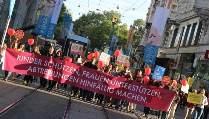 Österreichweite Demos gegen Abtreibung – Auch kommendes Jahr wieder