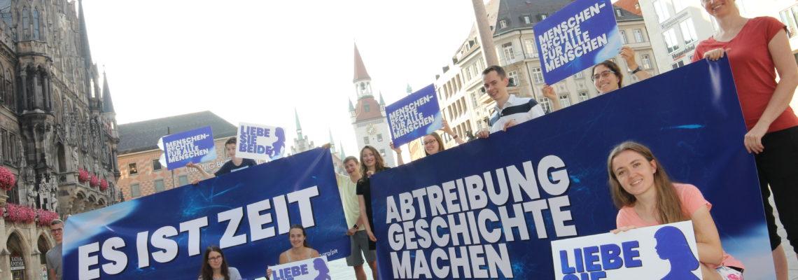 """Abtreibung muss undenkbar werden: Zwei Wochen zu Fuß von München nach Salzburg bei der """"Pro Life Tour"""""""