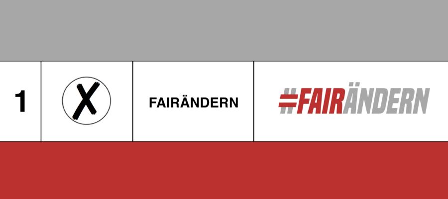 Wer will Österreich #fairändern?