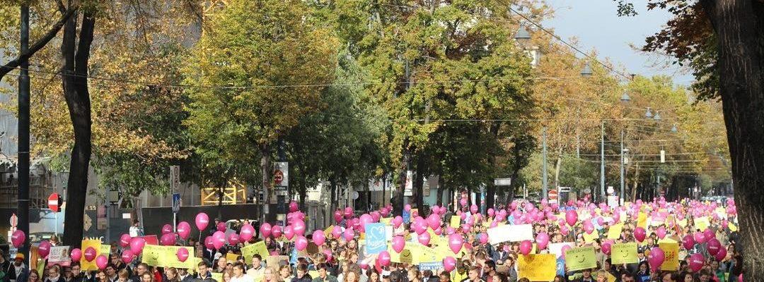Pro-Life-Revolution: Rund 4000 Teilnehmer beim Marsch fürs Leben 2019 in Wien